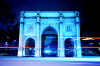 Marble Arch in Blue