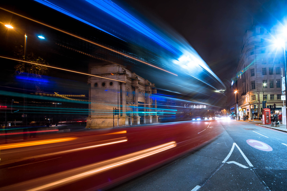 slow shutter for creative effect and timelapse